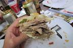 Sandwich in Mercado Municipal