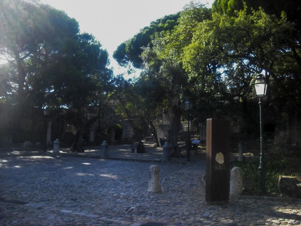 Entrada del Castillo del Lisboa.