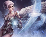 White Bird And Elven Angel
