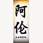 aaron - A Chinese Names Designs