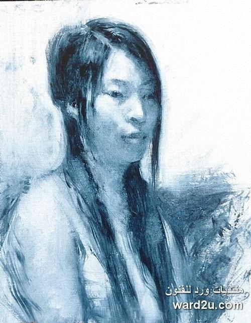 اعمال الفنان الانطباعى الصينى Kevin Macpherson