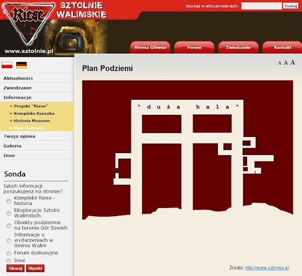Rzeczka: plan podziemnej fabryki Walimia