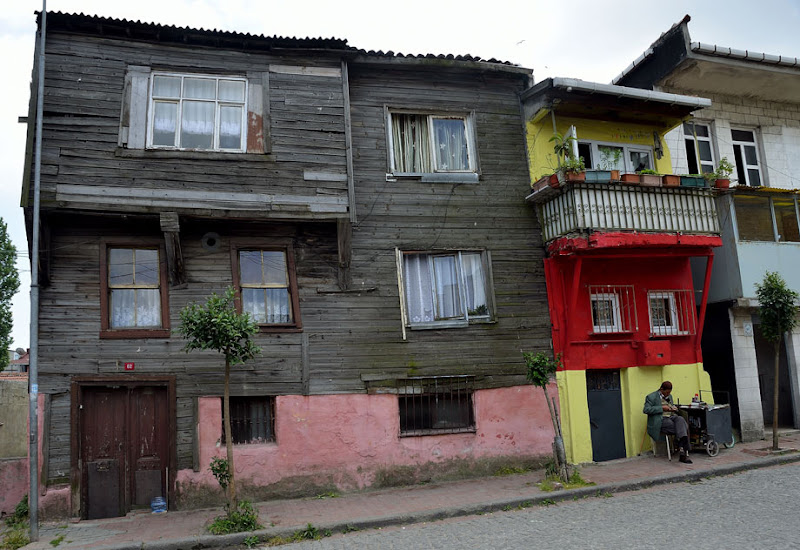 Houses of Old Constantinople. Istanbul, 2011