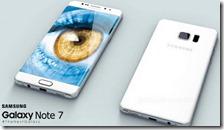 Samsung  Galaxy Note 7 prende fuoco