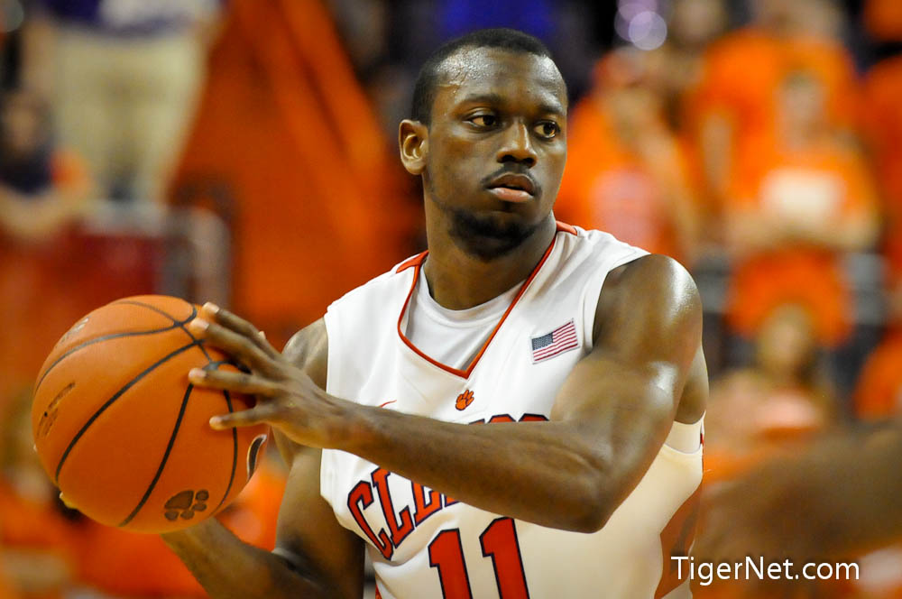 Clemson vs. Georgia Tech Photos - 2012, Andre Young, Basketball
