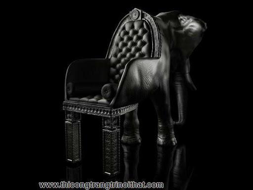 """Chiếc ghế hà mã """"độc nhất vô nhị"""" của nhà thiết kế Maximo Riera-9"""