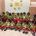 Laughter Day Celebration by Playgroup Section at Witty World, Chikoowadi (2018-19)