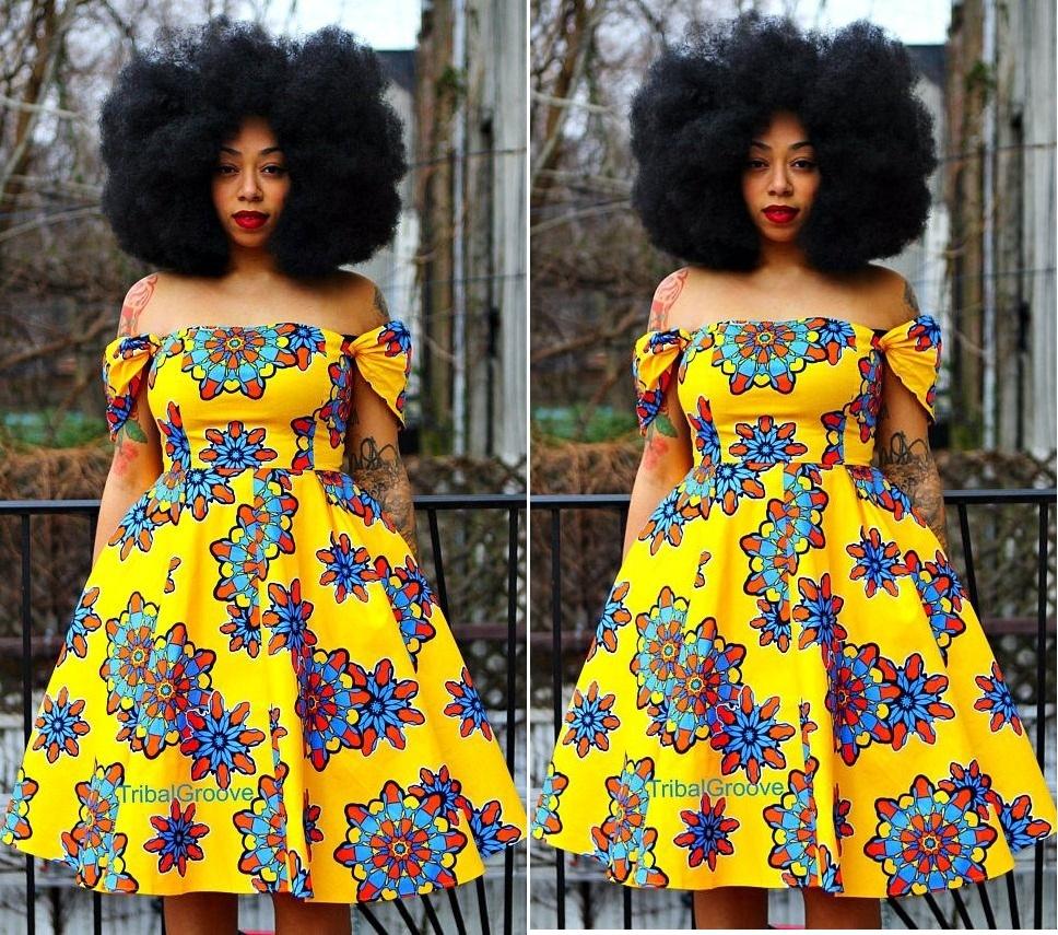 LATEST KITENGE DRESS STYLES FOR BEAUTIFUL WOMEN