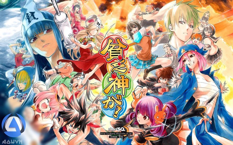 FOqt0YU - [ Anime 3gp Mp4 ] Binbougami Ga! | Vietsub - Max Hài