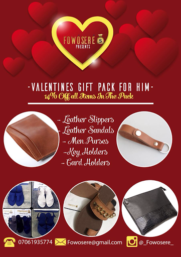 VALENTINE GIFT PACK FOR HIM - FOWÓSERÉ