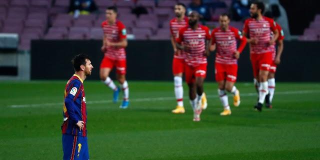 Barcelona vs granada laliga jumat 30 april 2021