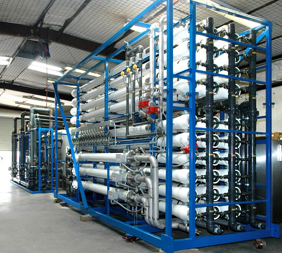 Water treatment system manufactured by OriginClear subsidiary, PWT.