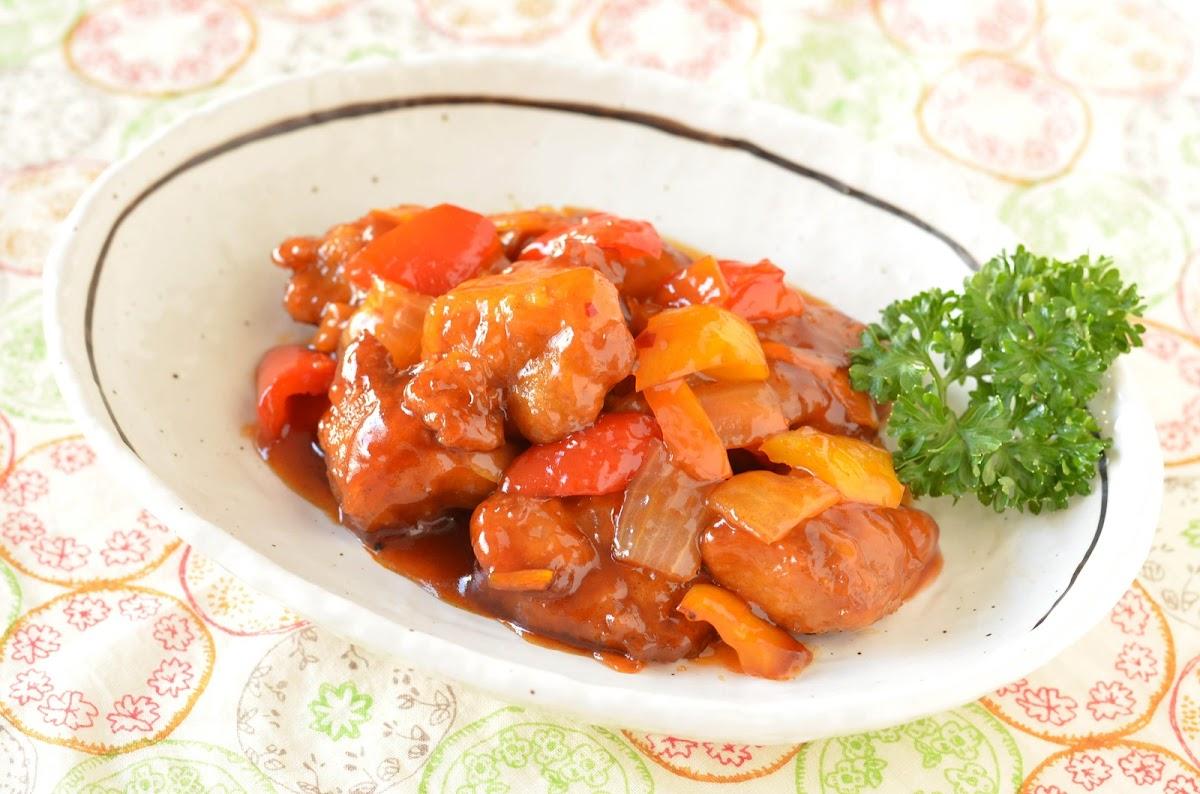シャキシャキ生野菜酢豚(ノンストップで笠原将弘が紹介)のレシピ