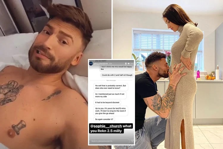Xfactor star reveals how super fan offered him £2.5m to sleep with him
