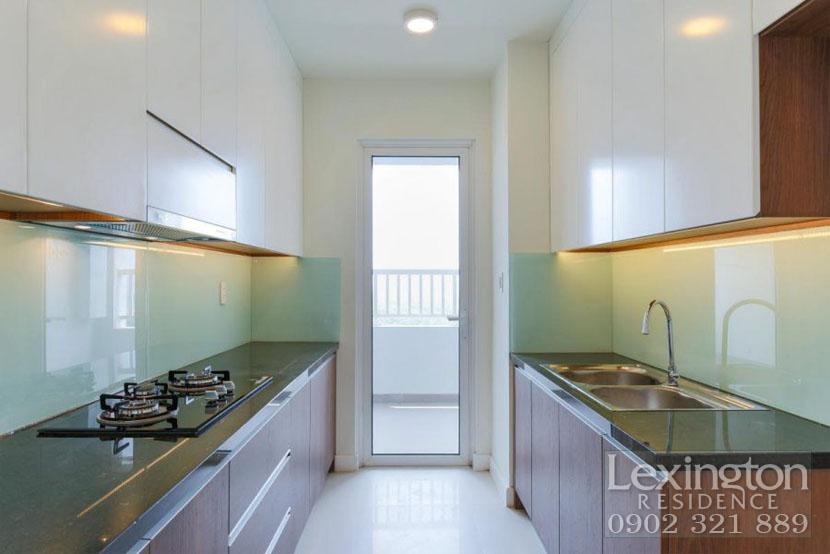 khu bếp căn hộ cho thuê Lexington quận 2