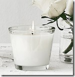 The White Company White Rose candle