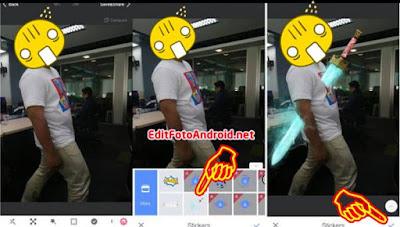 Aplikasi edit foto pedang Goblin android keren