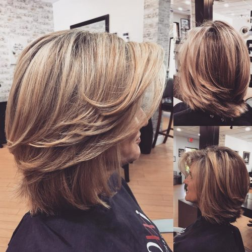 ATTRACTIVE SHORT HAIR COLOR STYLES FOR LADIES IN 2019 2