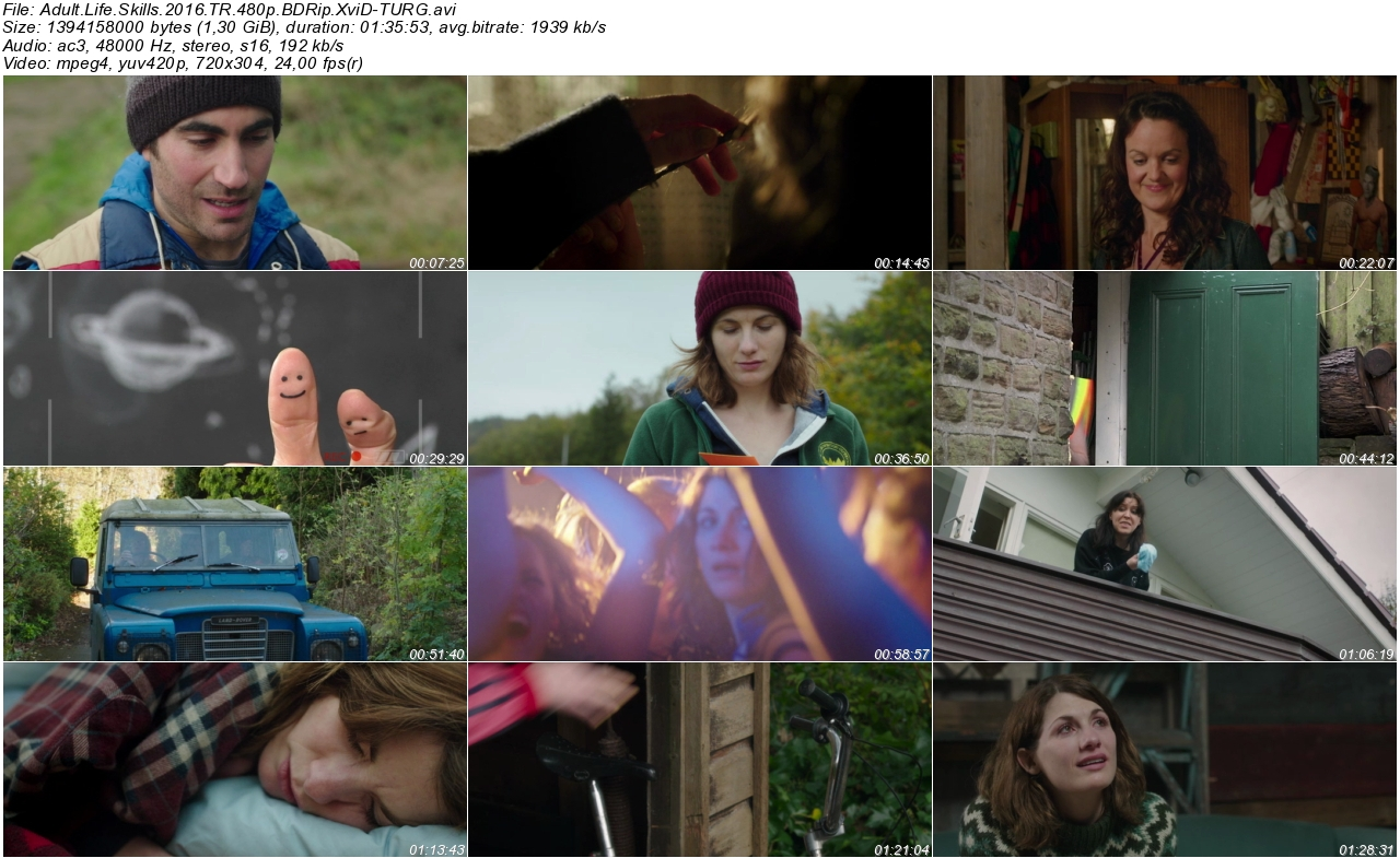 Adult Life Skills 2016 - 1080p 720p 480p - Türkçe Dublaj Tek Link indir