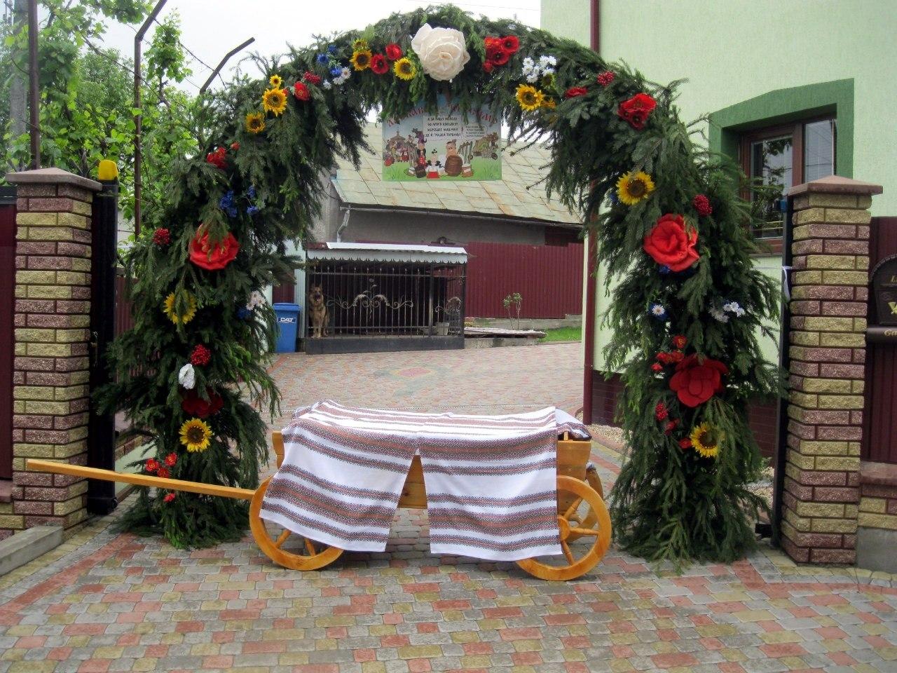 Весільні Брами З Ялинки Фото 9e1b302943111