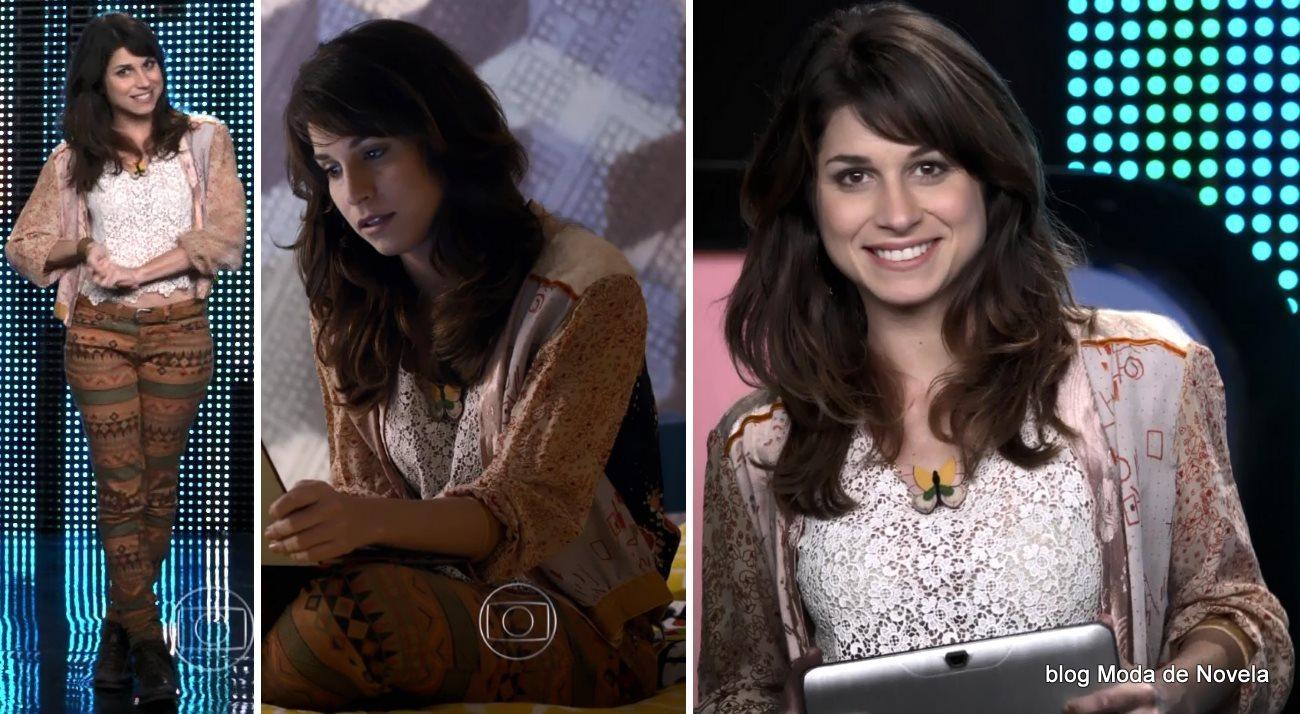 moda da novela G3R4Ç4O BR4S1L - look da Manuela dia 10 de junho