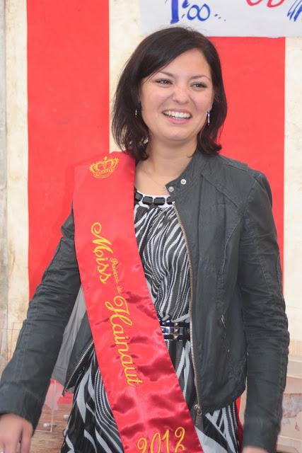 Miss Hainaut nous a fait l'honneur de sa présence