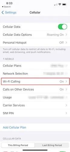 إصلاح البيانات الخلوية Ios Cellular Wifi
