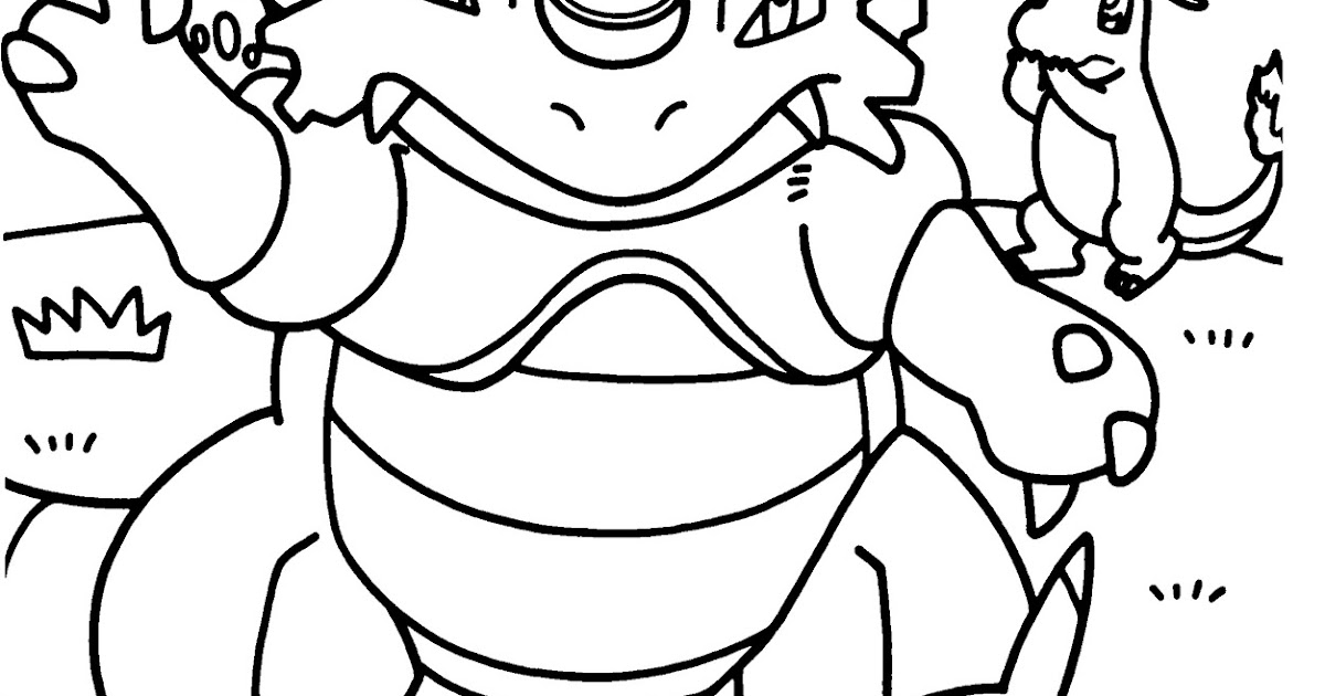 Best HD Pokemon Coloring Pages To Print Out Images