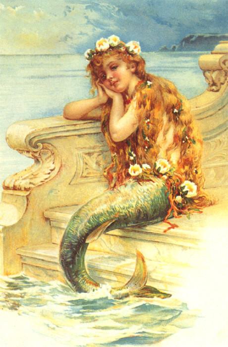 Mermaid Little Girl, Mermaids