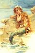 Mermaid Little Girl