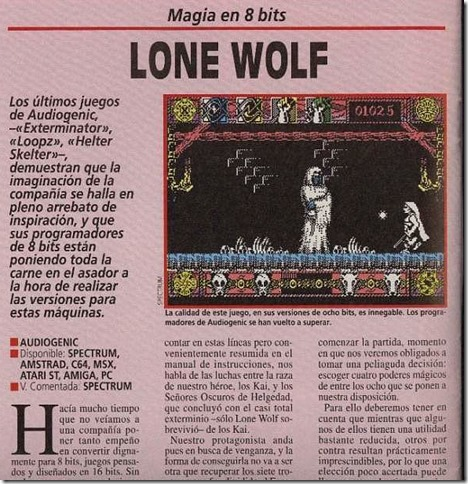 Lone Wolf Micromania