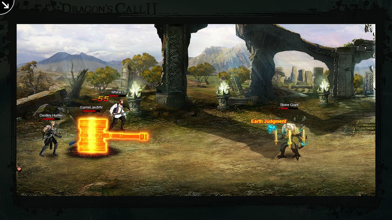 Một số hình ảnh về webgame Dragon's Call 2 - Ảnh 44