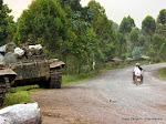 Une vue de Kibati (Nord-Kivu), non loin de Kanyesheja où des accrochages sont survenus mercredi et jeudi 12 juin 2014 entre l'armée congolaise et rwandaise.