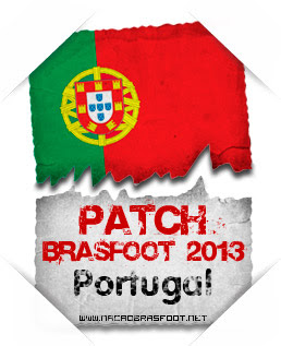 Patch Portugal Brasfoot 2013