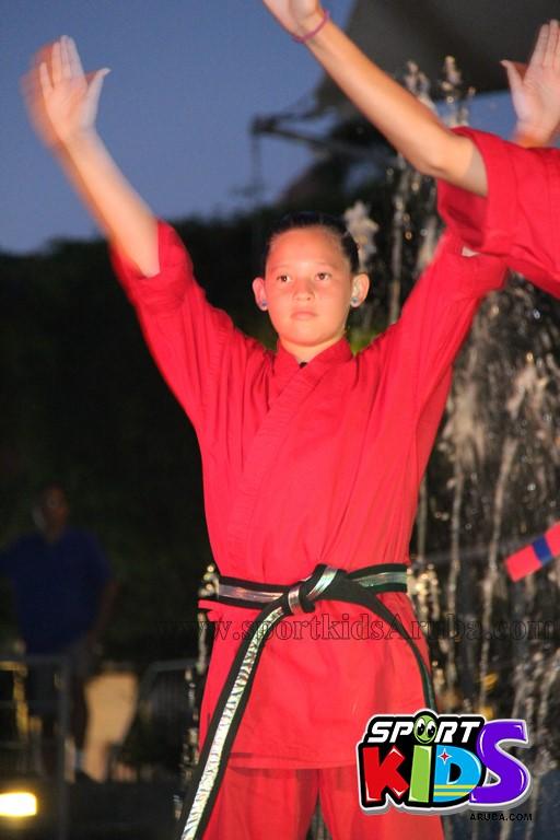show di nos Reina Infantil di Aruba su carnaval Jaidyleen Tromp den Tang Soo Do - IMG_8637.JPG