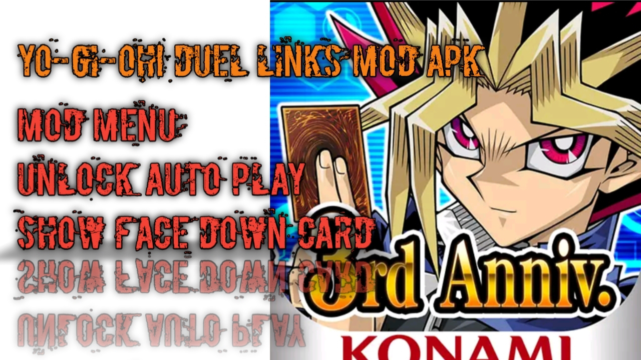 Yo-Gi-Oh! Duel Links Mod Apk New version 4.10.0 | Mod Menu ...
