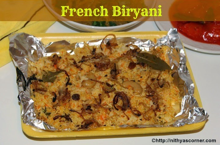 French Biryani