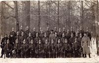 A group photo members of Infanterie-Regiment Graf Barfuß (4. Westfälisches) Nr. 17