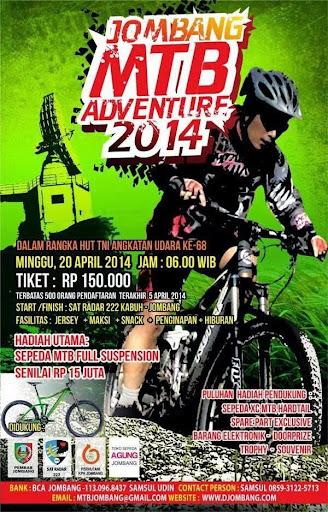 Jombang MTB Adventure 2014