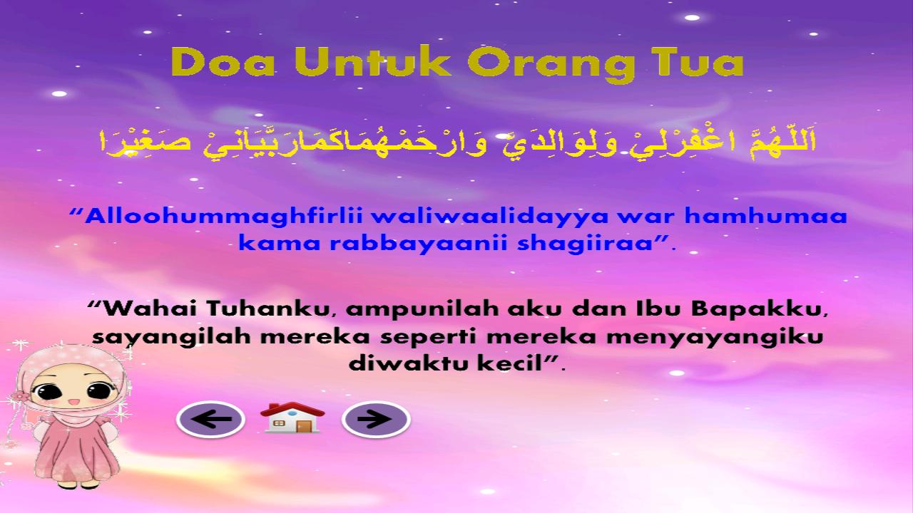 Doa Sehari Hari Anak Muslim Android Apps On Google Play