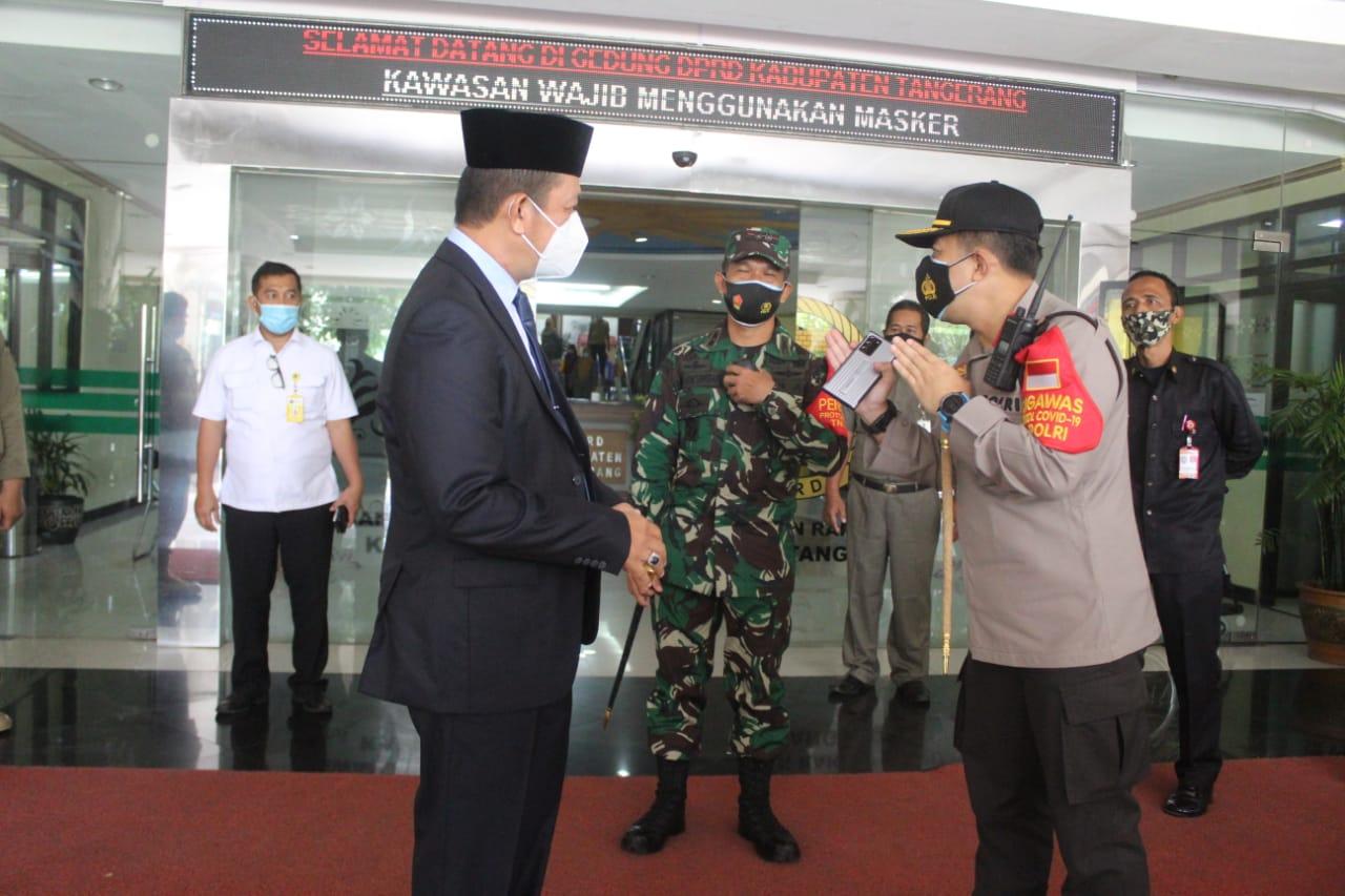 Dandim 0510/Trs Hadiri Paripurna HUT Kabupaten Tangerang Ke -388