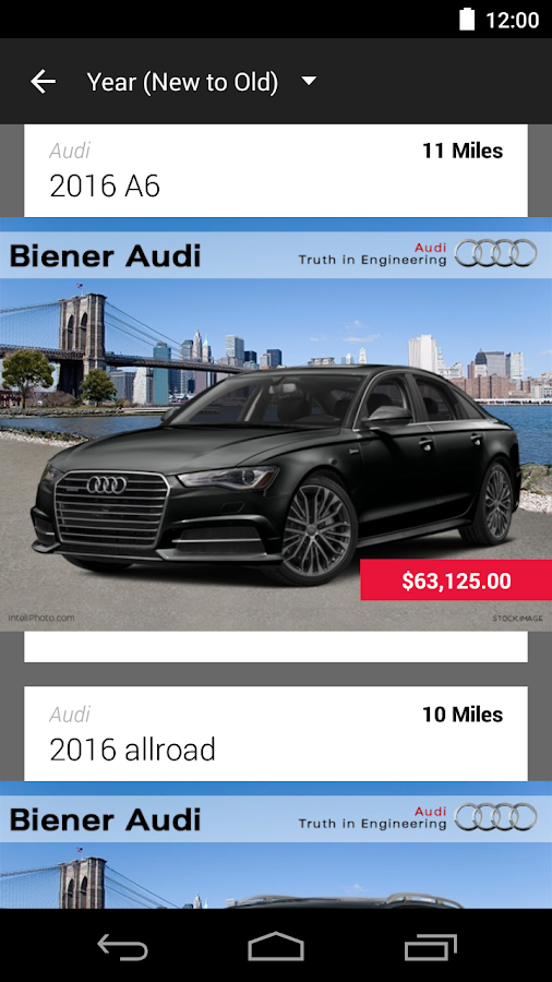 Biener Audi Dealerapp Android Apps On Google Play