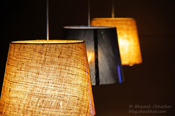 Lamp Shades at Frisco, Koregaon Park, Pune