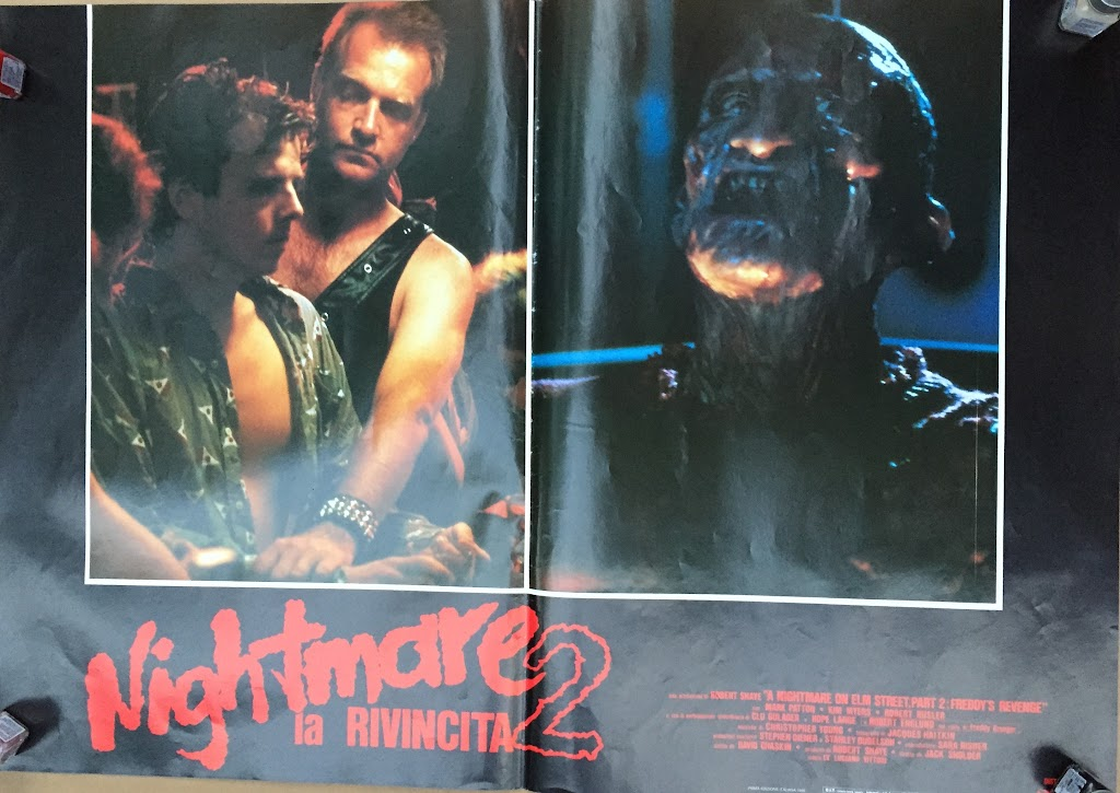 Italian Lobby card Nightmare 2 2 of 6  26x19 #1