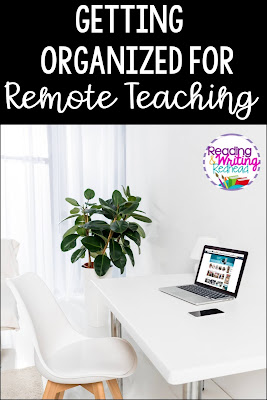 Getting Organized for Remote Teaching