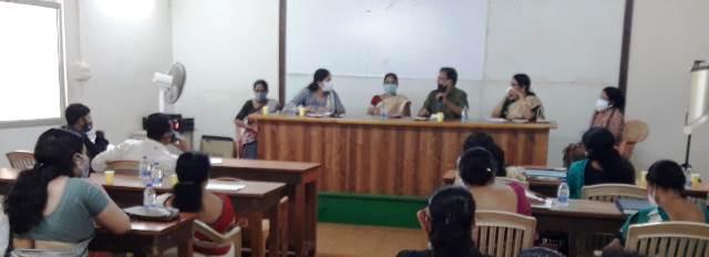 Child protection and Juvinile Law awareness meeting by police dept