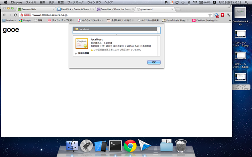 SSL成功画面