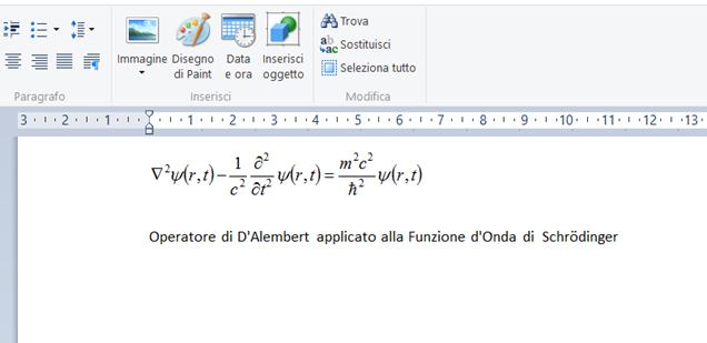 equazione-wordpad