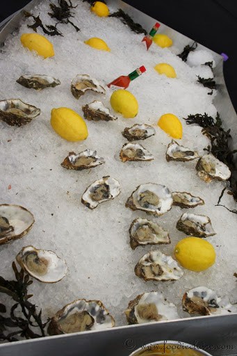 oysters at chapel down feastival