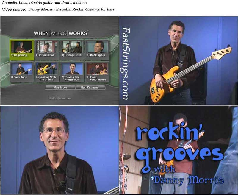 Danny Morris - Essential Rockin Grooves for Bass